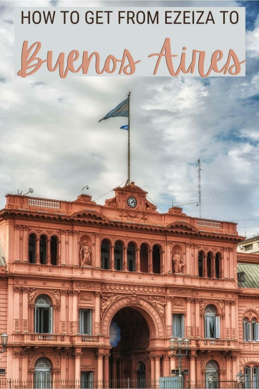 Read about the easiest way to get from Ezeiza to Buenos Aires - via @clautavani