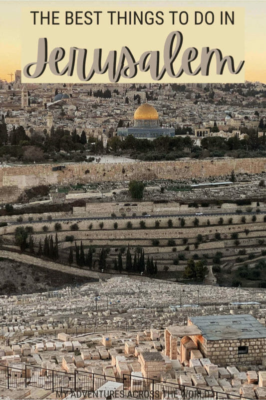 Discover the best things to do in Jerusalem - via @clautavani