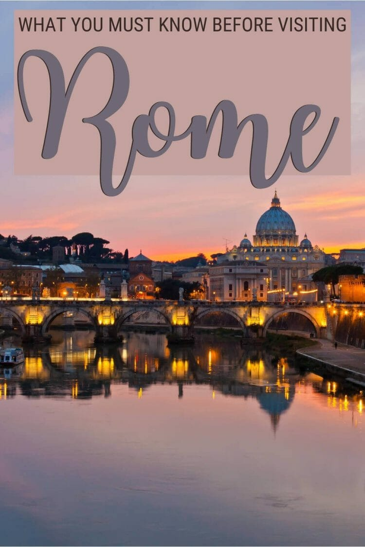 Discover what you must know before visiting Rome - via @clautavani