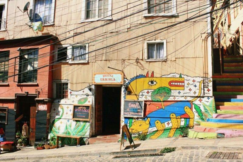 3 days in Valparaiso