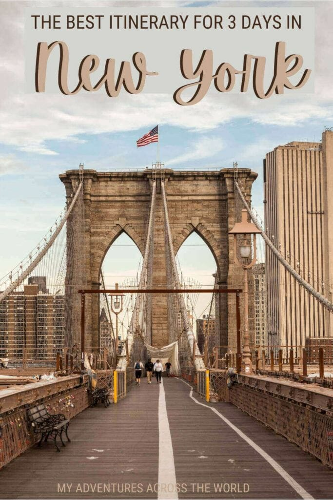Discover how to make the most of 3 days in New York - via @clautavani