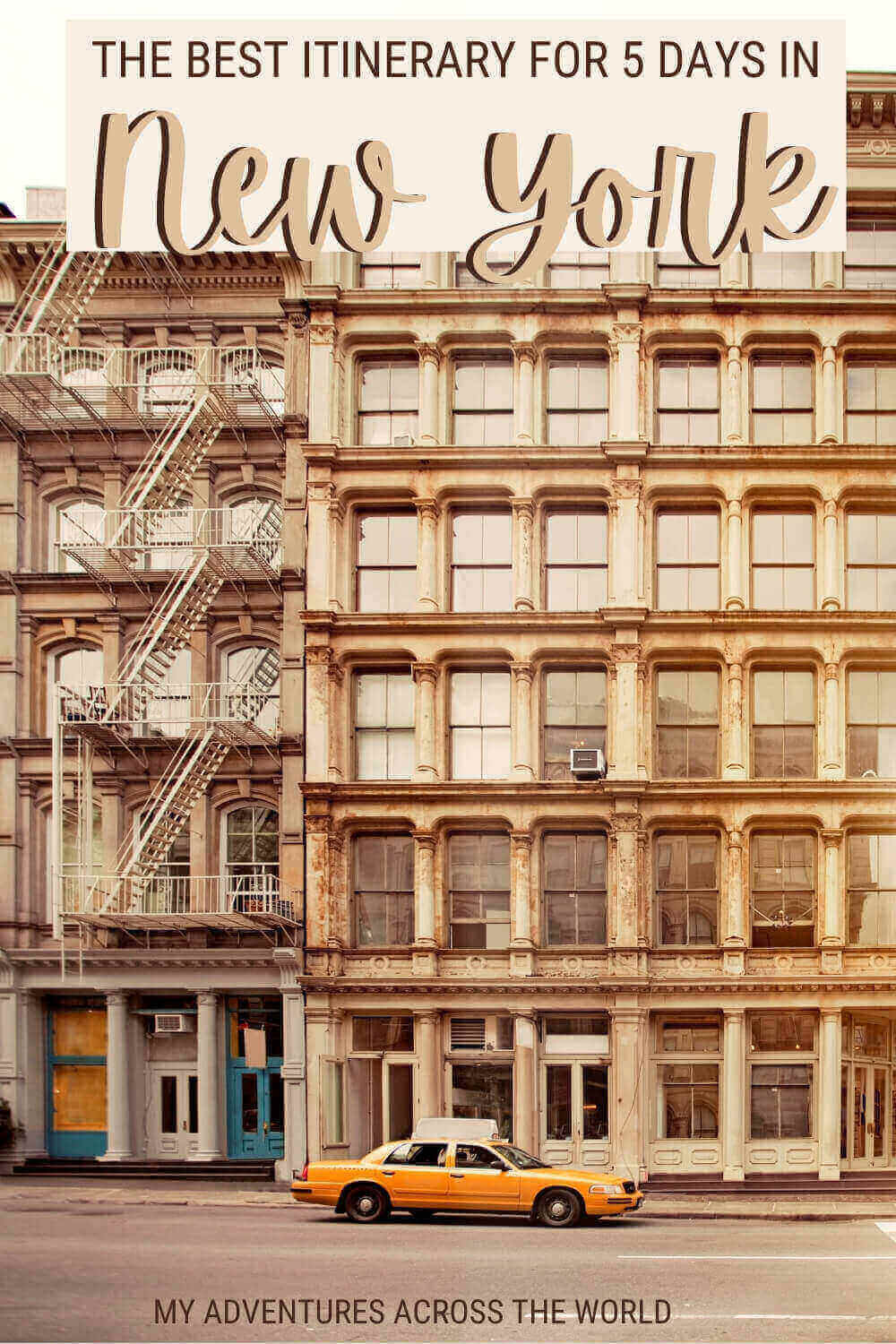 Discover how to see New York in 5 days - via @clautavani
