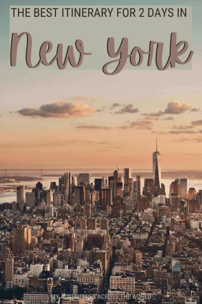 Check out this itinerary to see New York in 2 days - via @clautavani