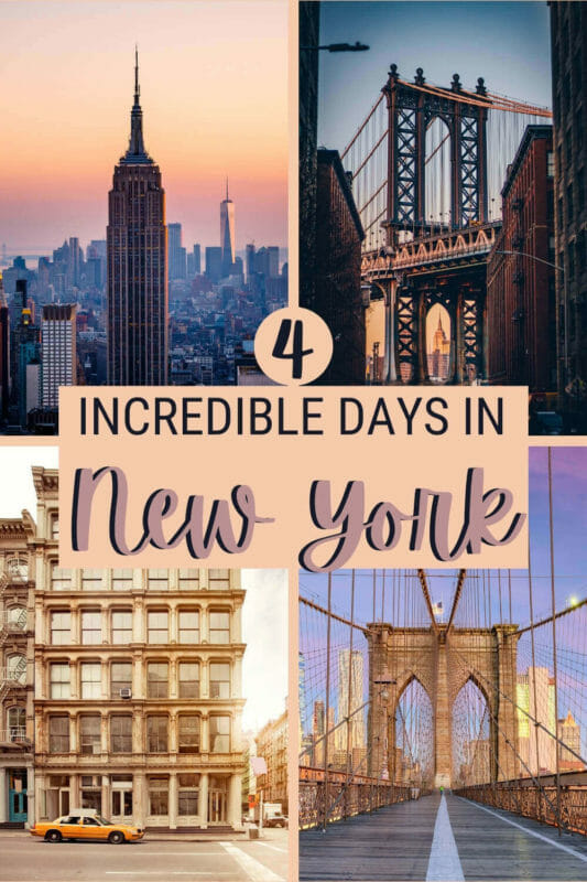 Discover what to see and do in 4 days in New York - via @clautavani