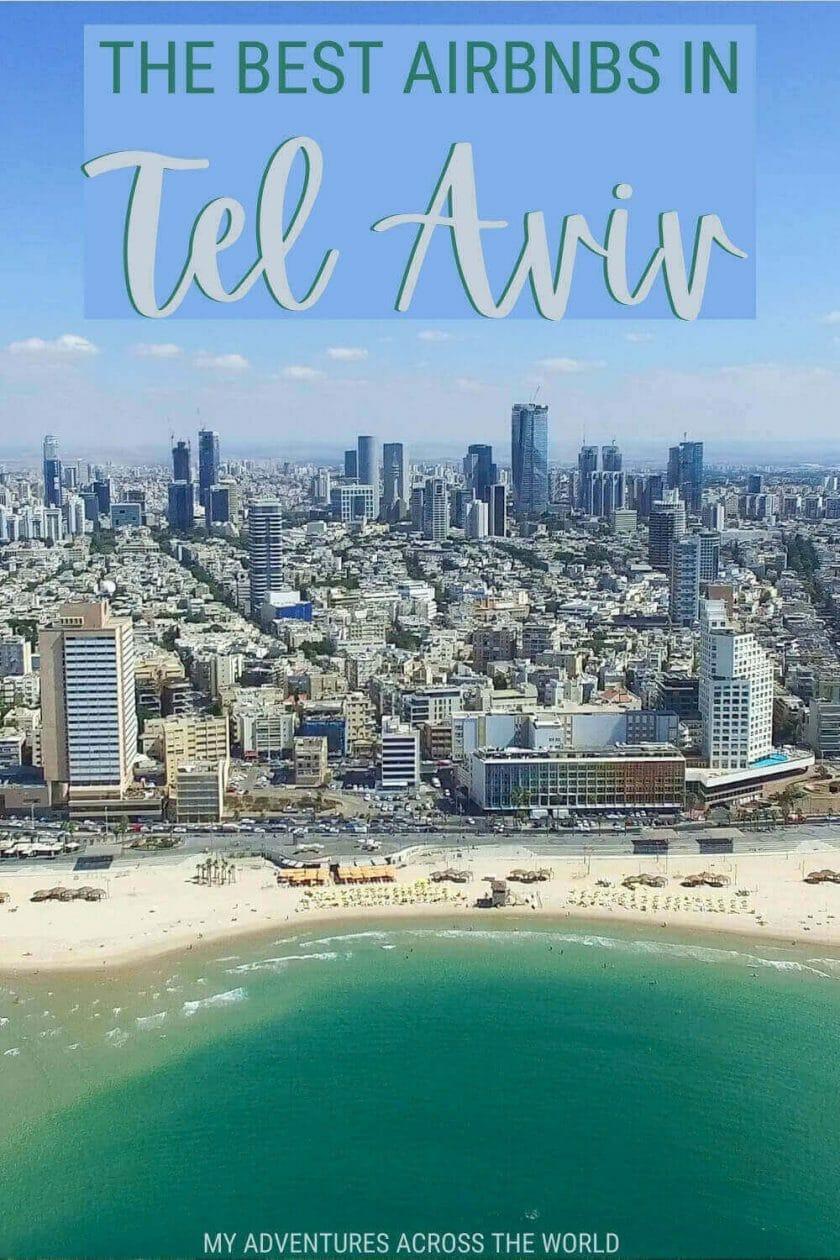 Discover the best Airbnbs in Tel Aviv - via @clautavani