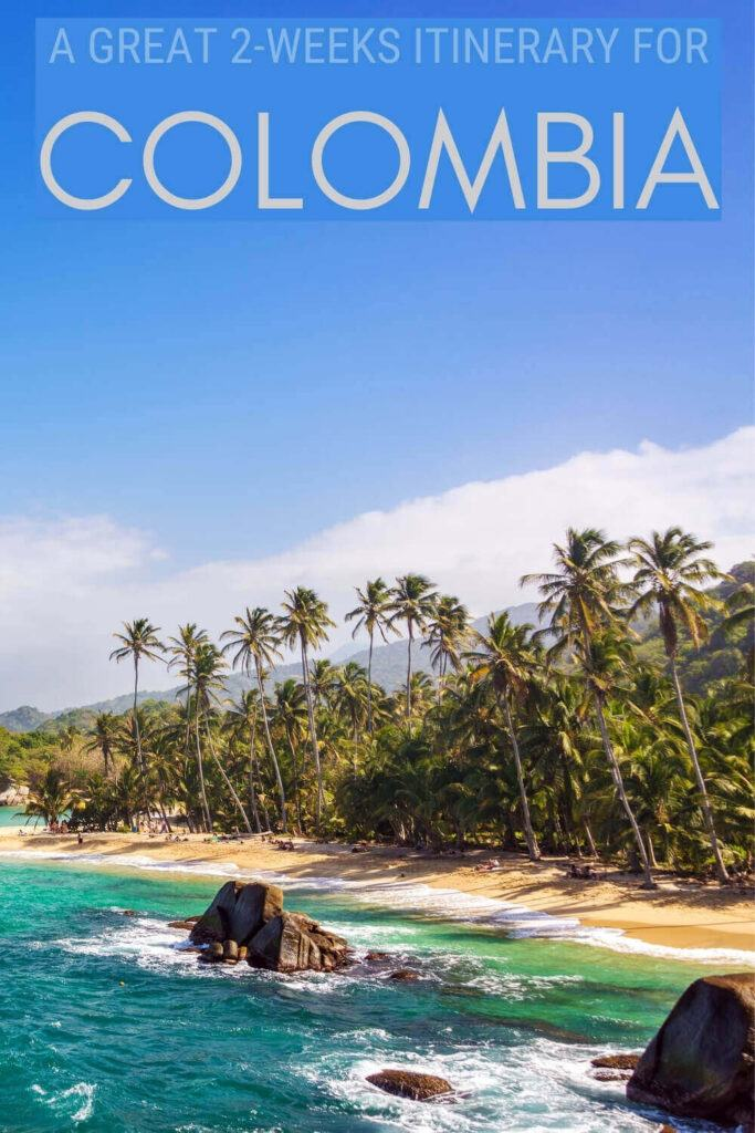 Check out this 2 weeks in Colombia itinerary - via @clautavani