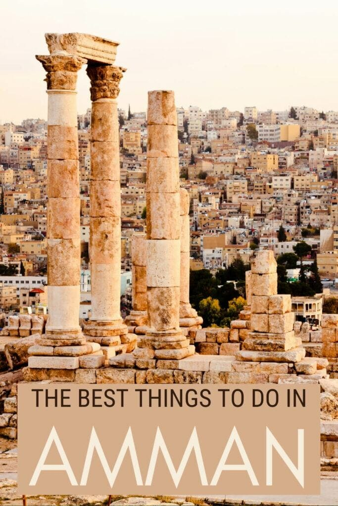 Read about the things to do in Amman - via @clautavani