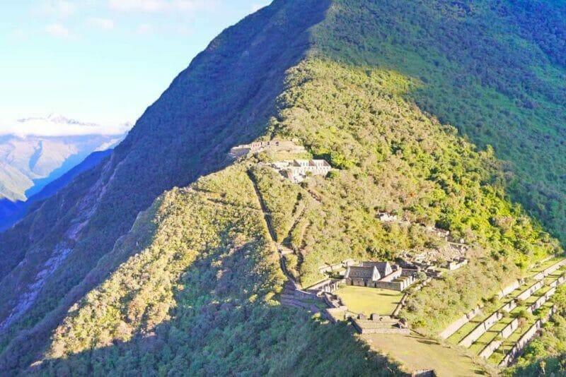 hiking in Peru