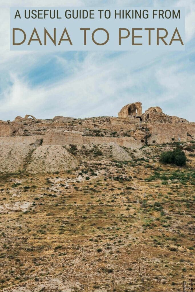 Check out all the best tips for hiking the Jordan Trail from Dana to Petra - via @clautavani