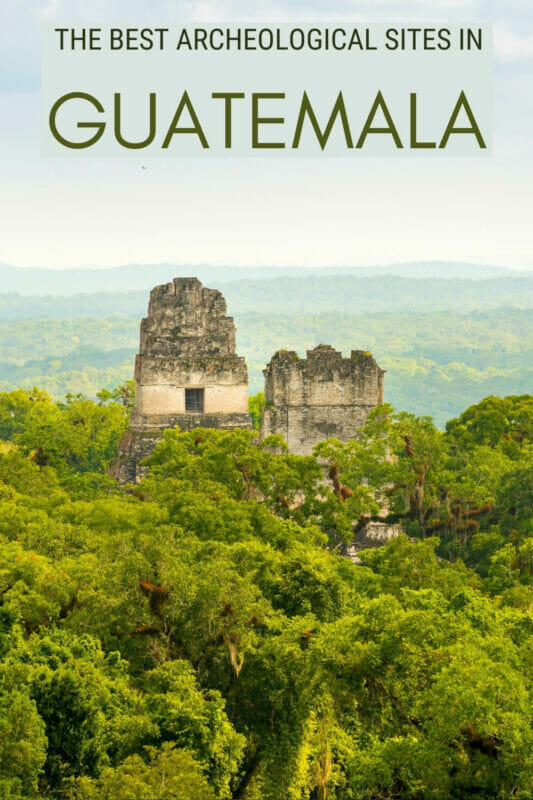 Discover the most impressive Mayan ruins in Guatemala - via @clautavani