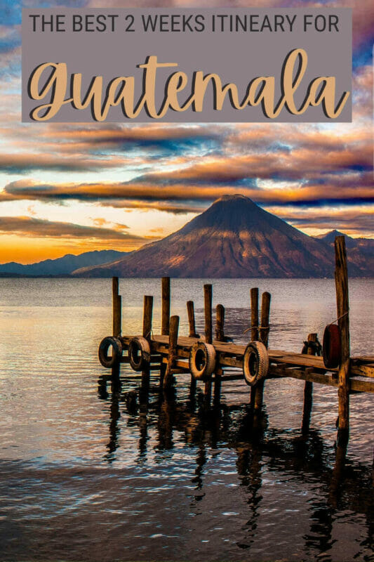 Discover how to make the most of Guatemala with this fantastic Guatemala itinerary - via @clautavani