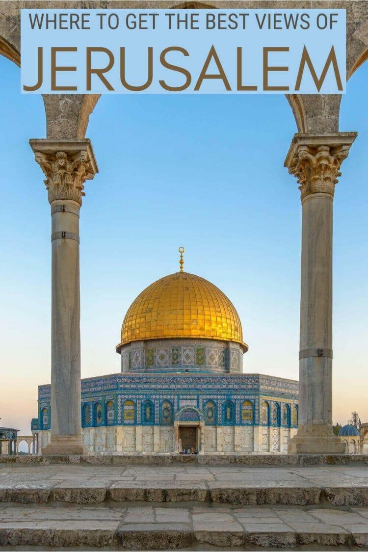 Discover the best views of Jerusalem - via @clautavani