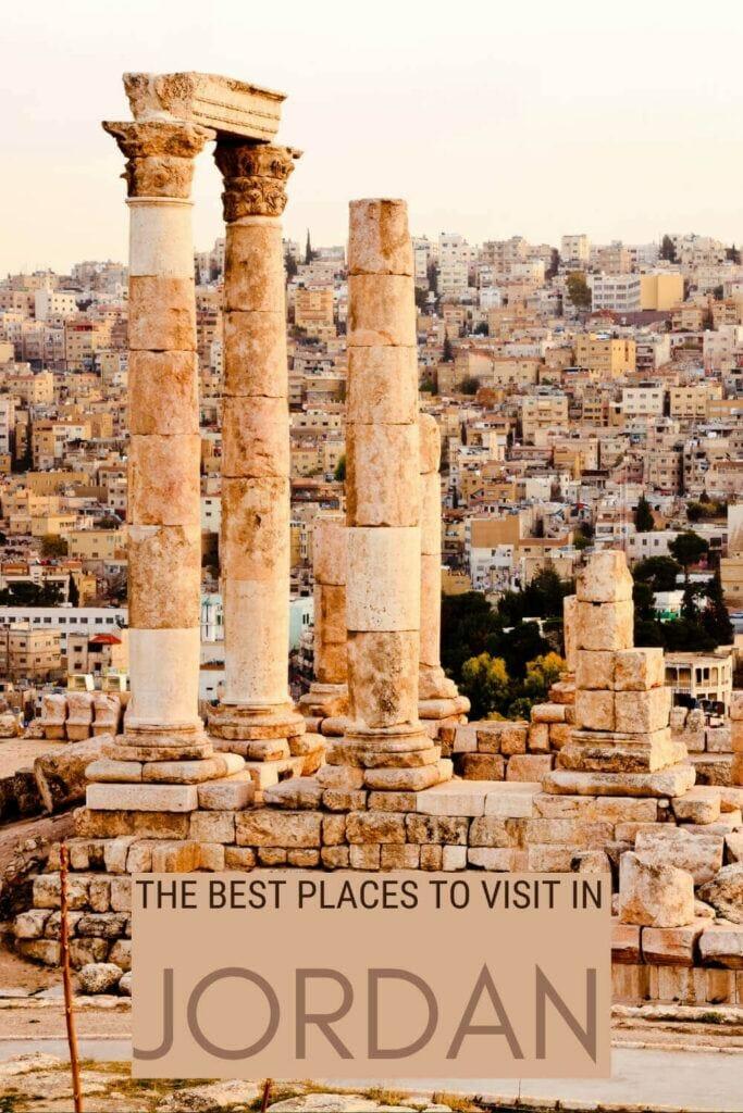 Discover the best places to visit in Jordan - via @clautavani