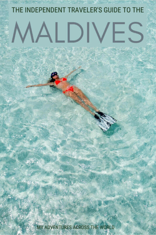 Find out how to visit the Maldives on a budget - via @clautavani