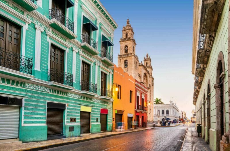 from Cancun to Merida