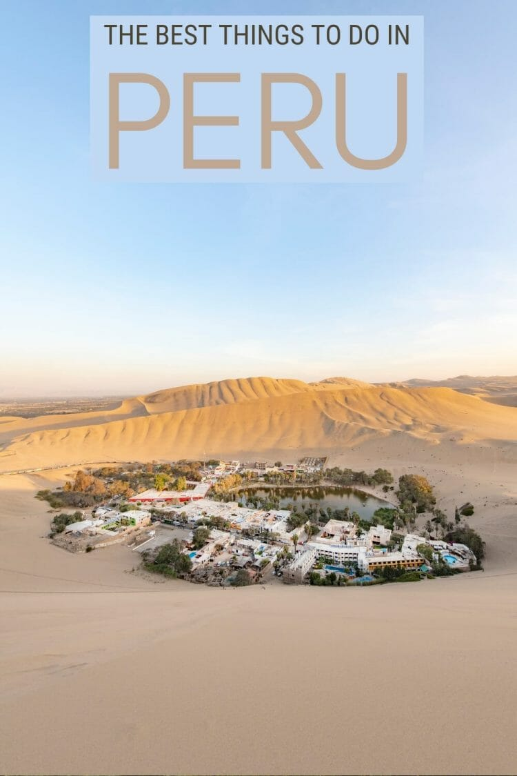 Read about the best things to do in peru - via @clautavani