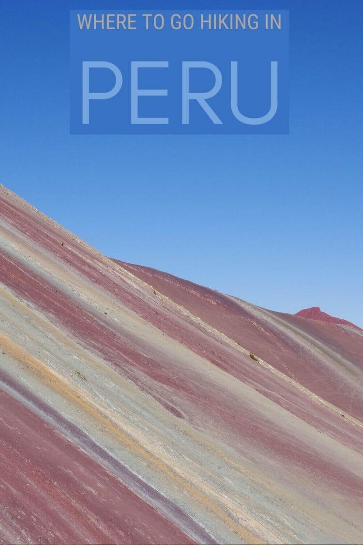 Discover the best hikes in Peru - via @clautavani