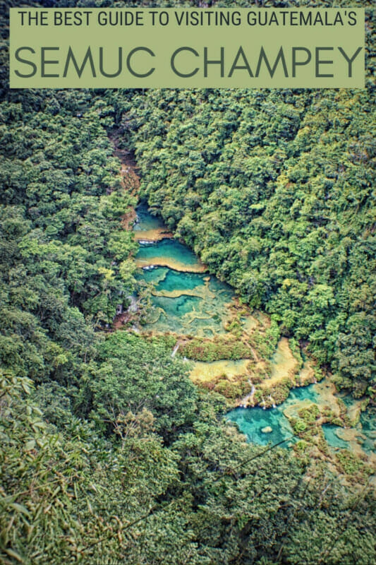 Read everything you must know before visiting Semuc Champey, Guatemala - via @clautavani