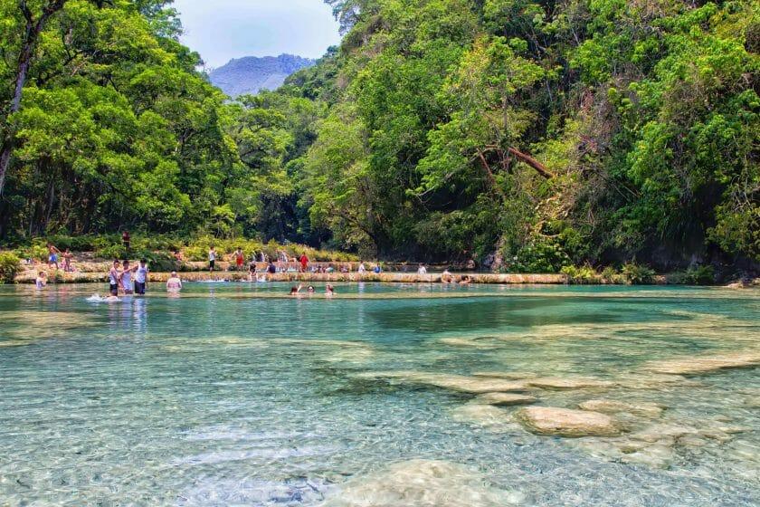 natural pools Semuc Champey