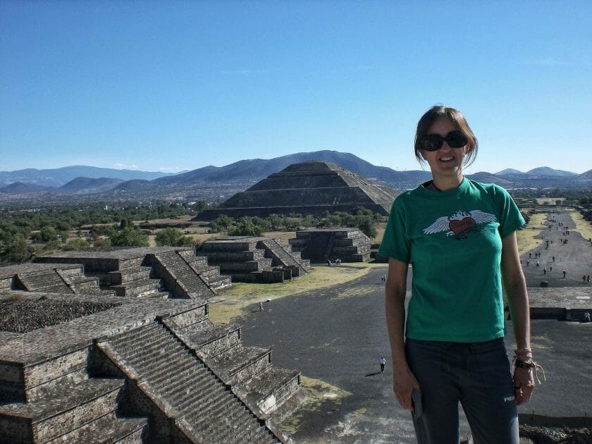 Teotihuacan from Mexico City