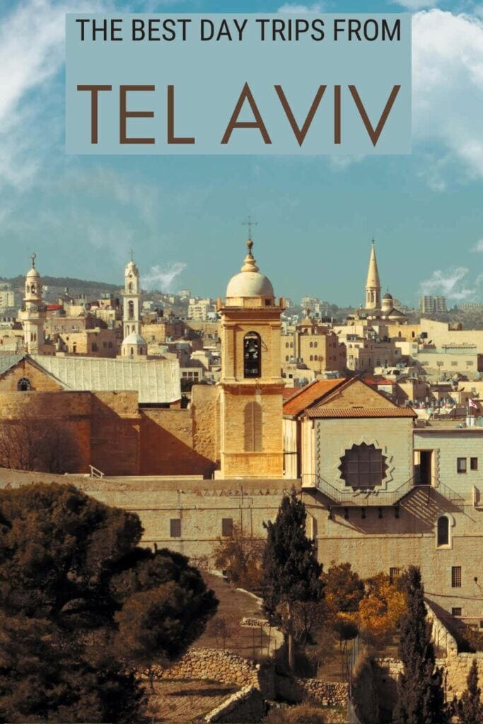 Check out the best day trips from Tel Aviv - via @clautavani