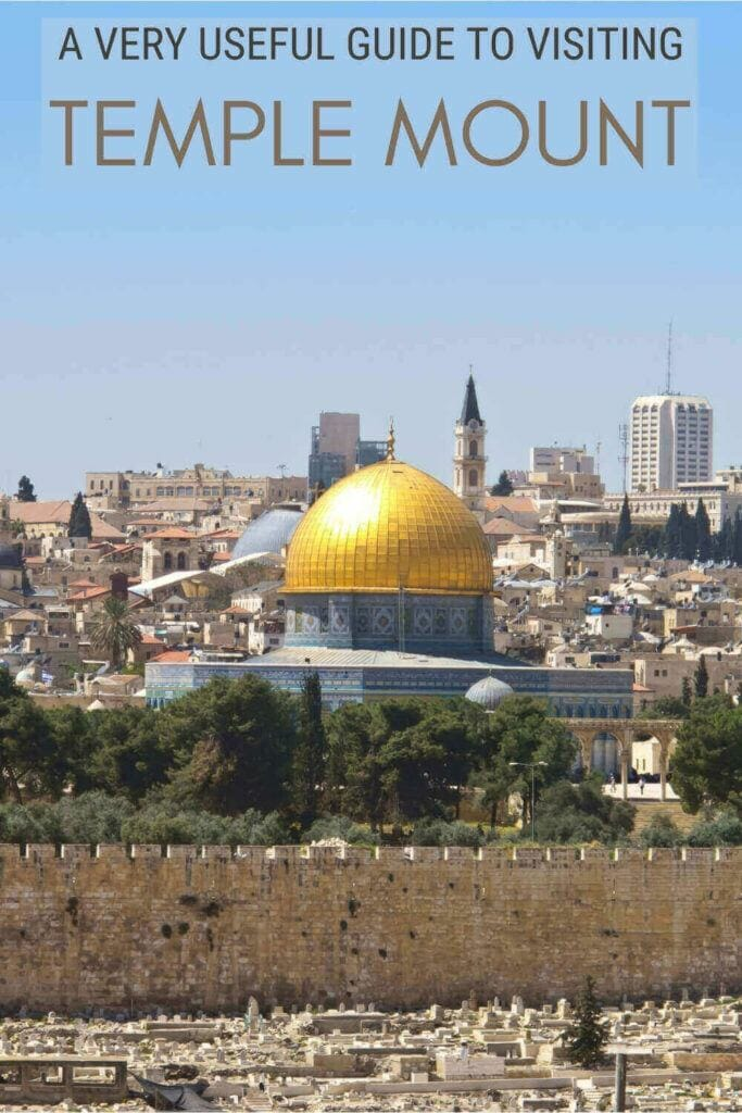 Find out what you must know before visiting Temple Mount - via @clautavani