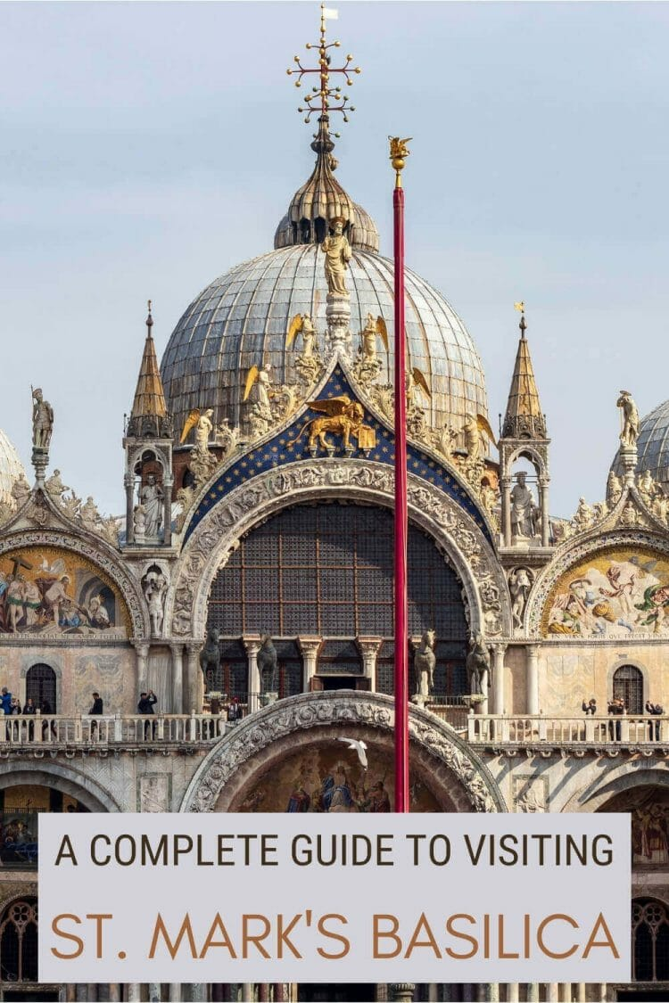 Read everything you need to know before visiting St. Mark's Basilica - via @clautavani