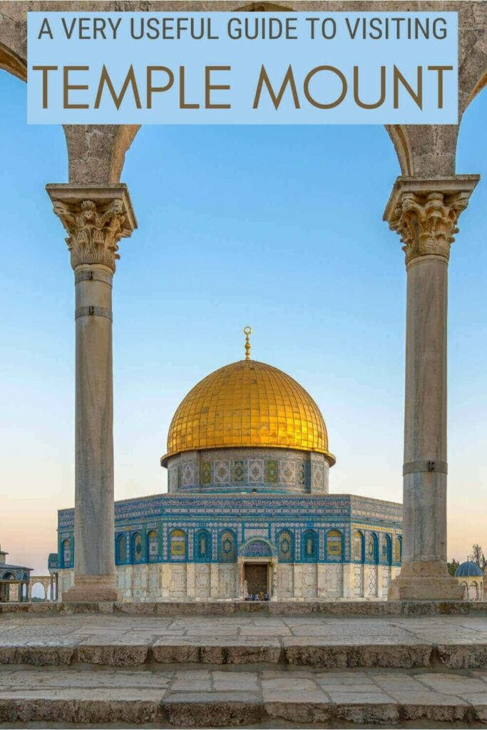 Check out what you must know before visiting Temple Mount - via @clautavani