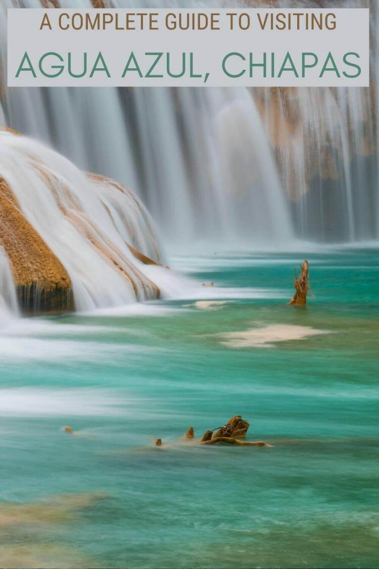 Read the complete guide to visiting Agua Azul waterfalls, Chiapas - via @clautavani