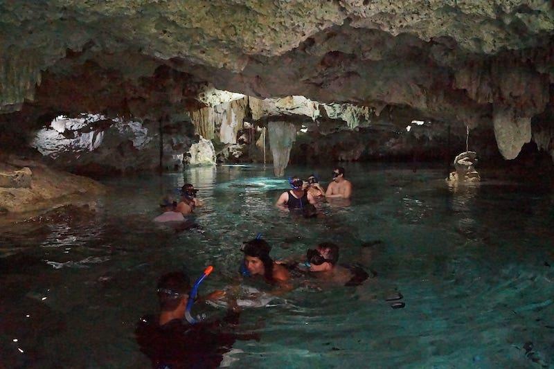 Cenotes near Playa del Carmen