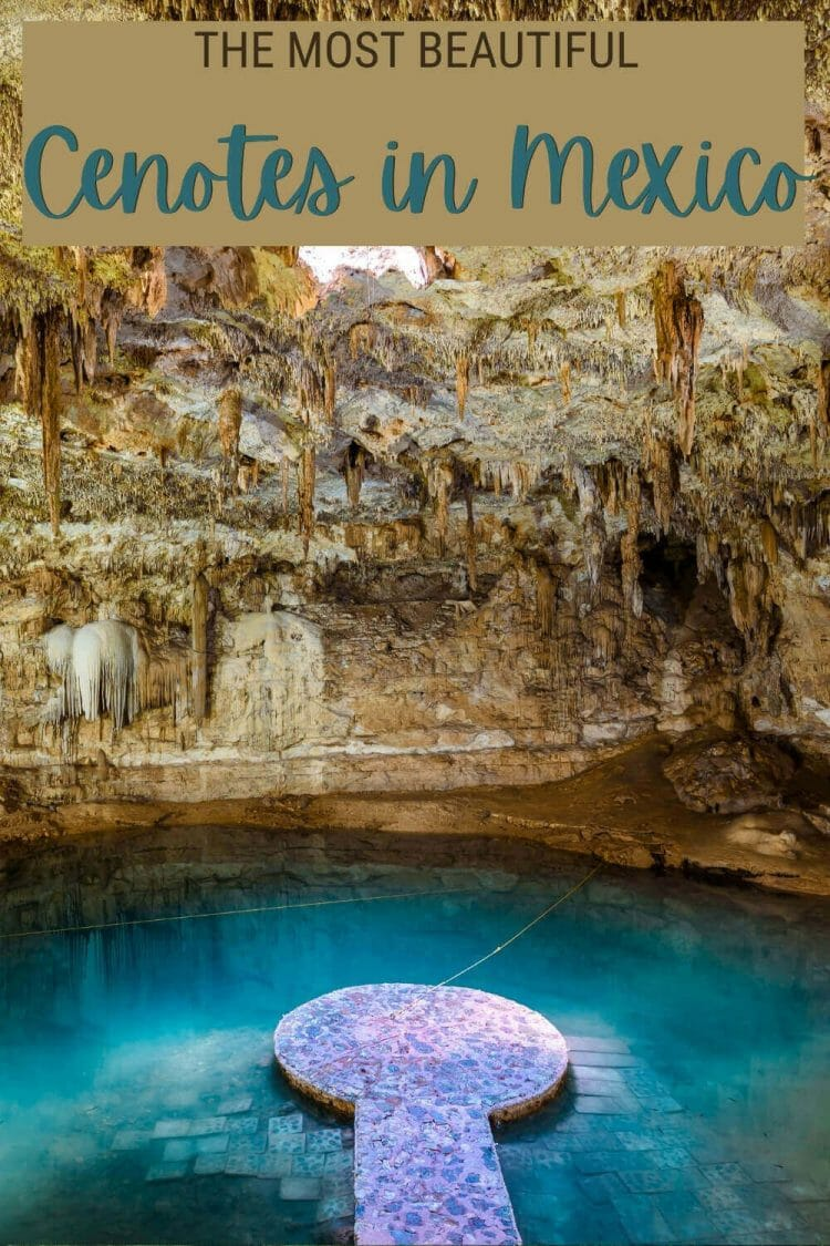 Discover the best cenotes to visit in Mexico - via @clautavani