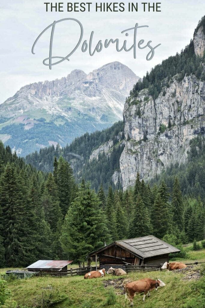 Discover the best hikes in the Dolomites - via @clautavani