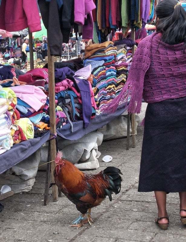Market in San Juan Chamula