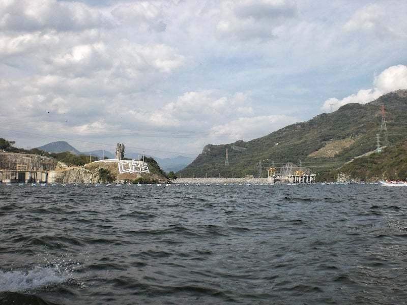 Sumidero Canyon dam