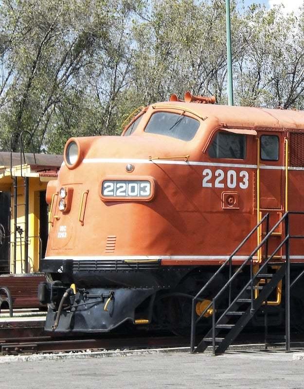 Ferrocarriles Museum Puebla