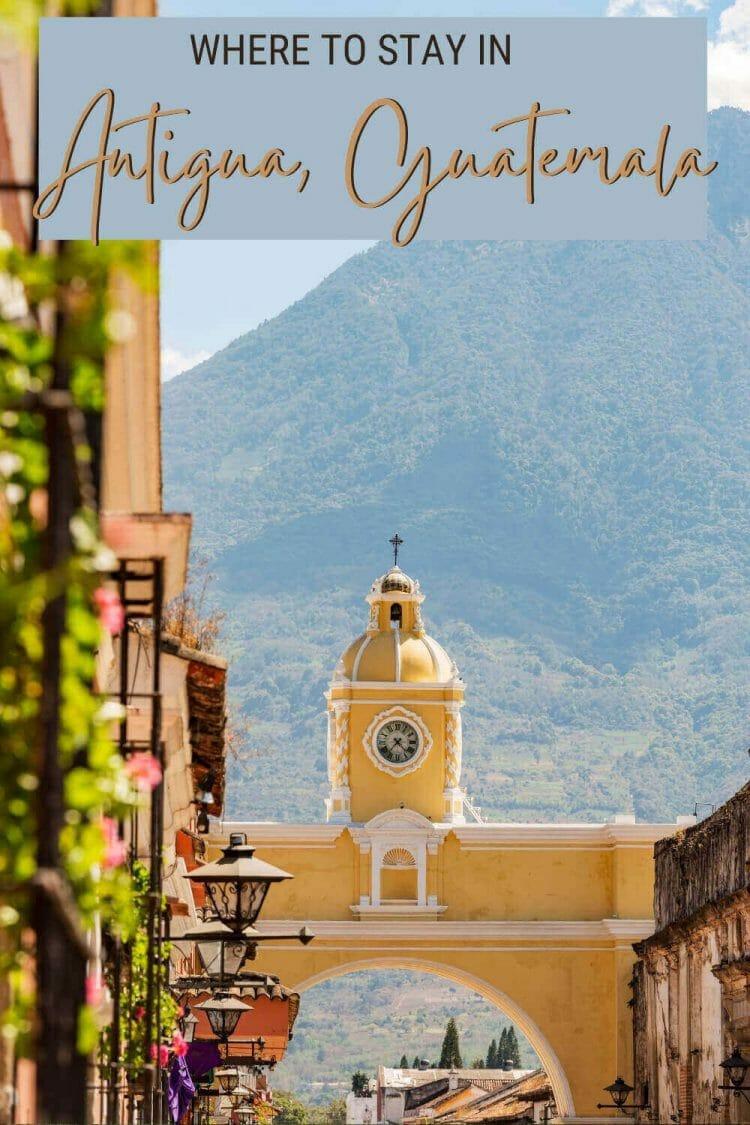 Discover where to stay in Antigua Guatemala - via @clautavani