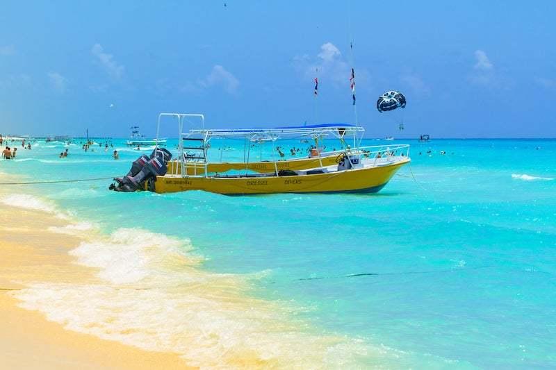 Boat tour cancun