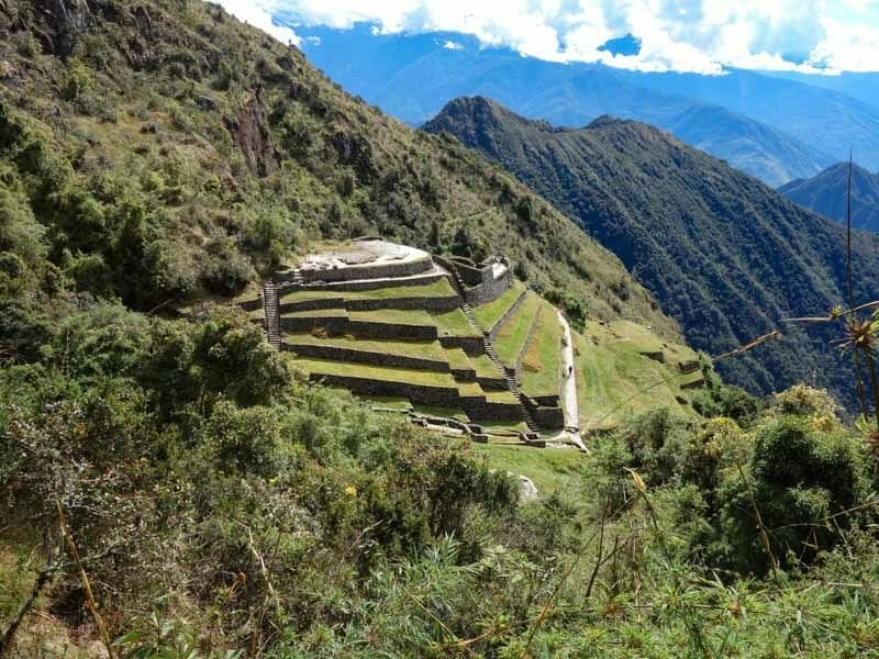 Incredible views along the Inca Trail