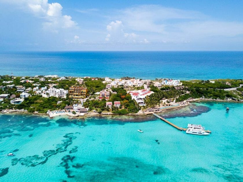 how to get from Cancun to Isla Mujeres Mexico