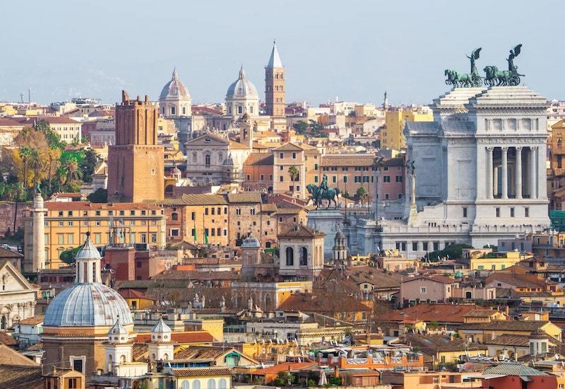 views of Rome