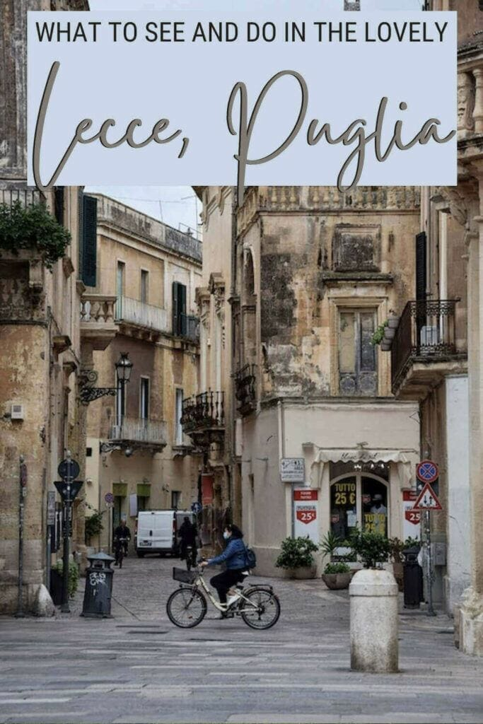 Discover what to see and do in Lecce, Italy - via @clautavani