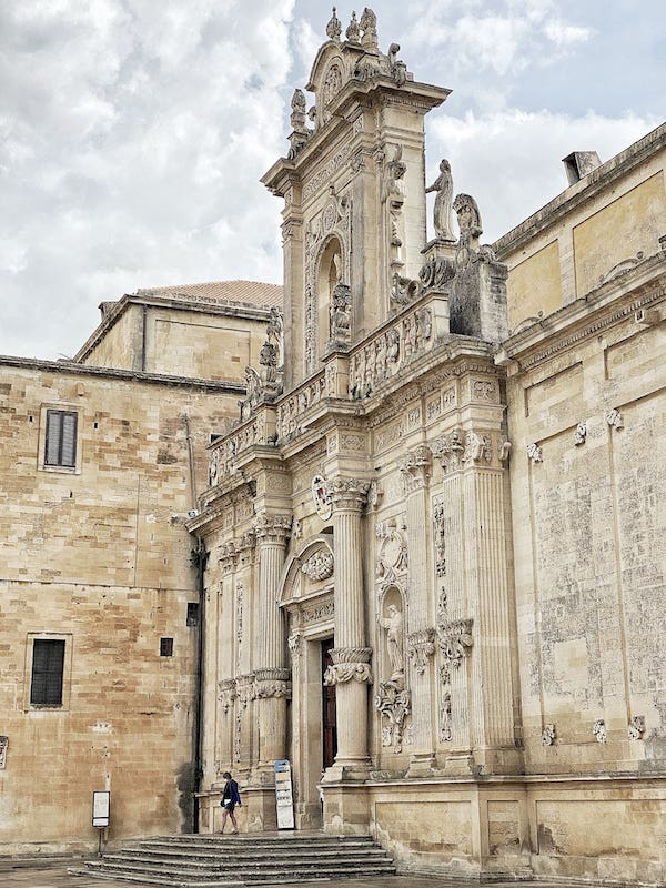 Lecce Italy cathedral