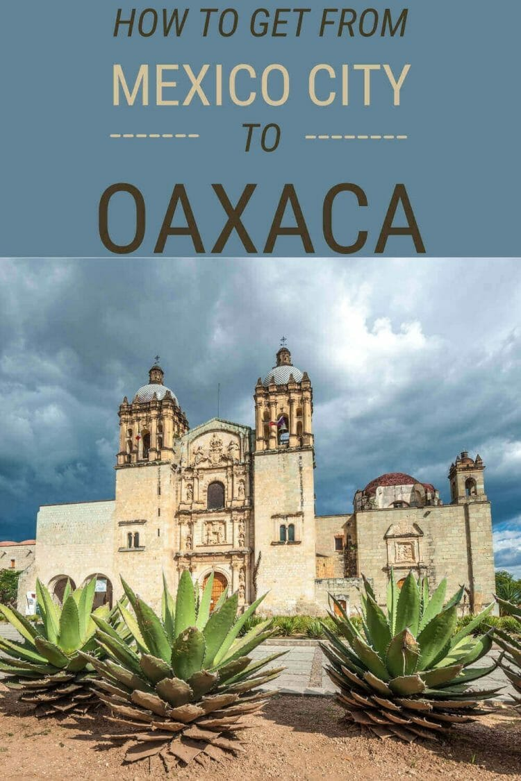 Discover how to get from Mexico City to Oaxaca - via @clautavani