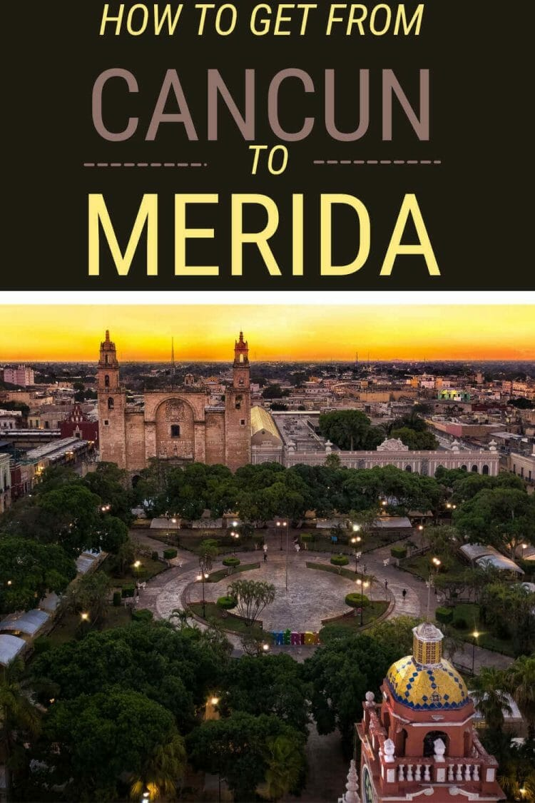 Discover the best way of getting from Cancun to Merida - via @clautavani