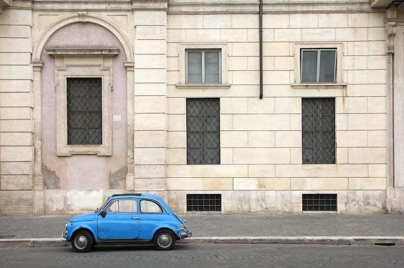 Fiat 500 tour of Rome