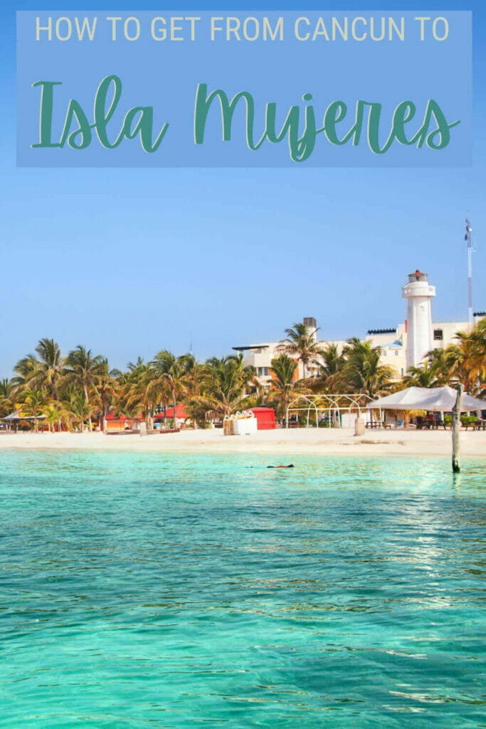 Discover the best way of getting from Cancun to Isla Mujeres - via @clautavani