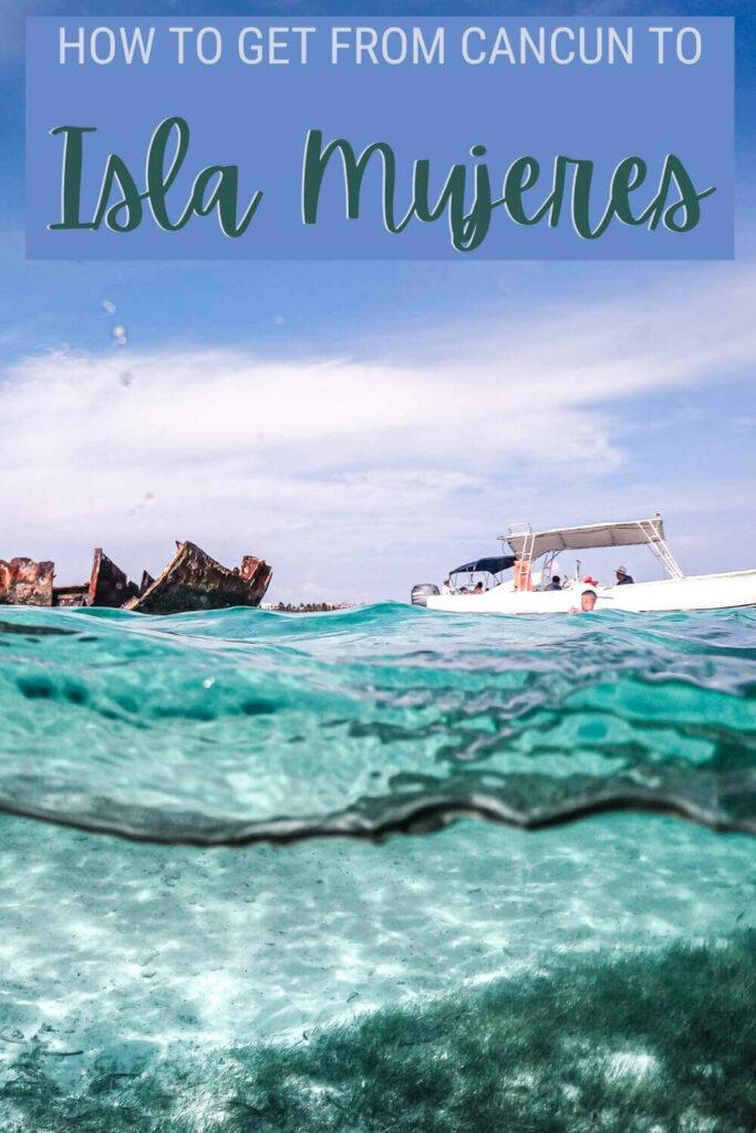 Learn how to get from Cancun to Isla Mujeres - via @clautavani