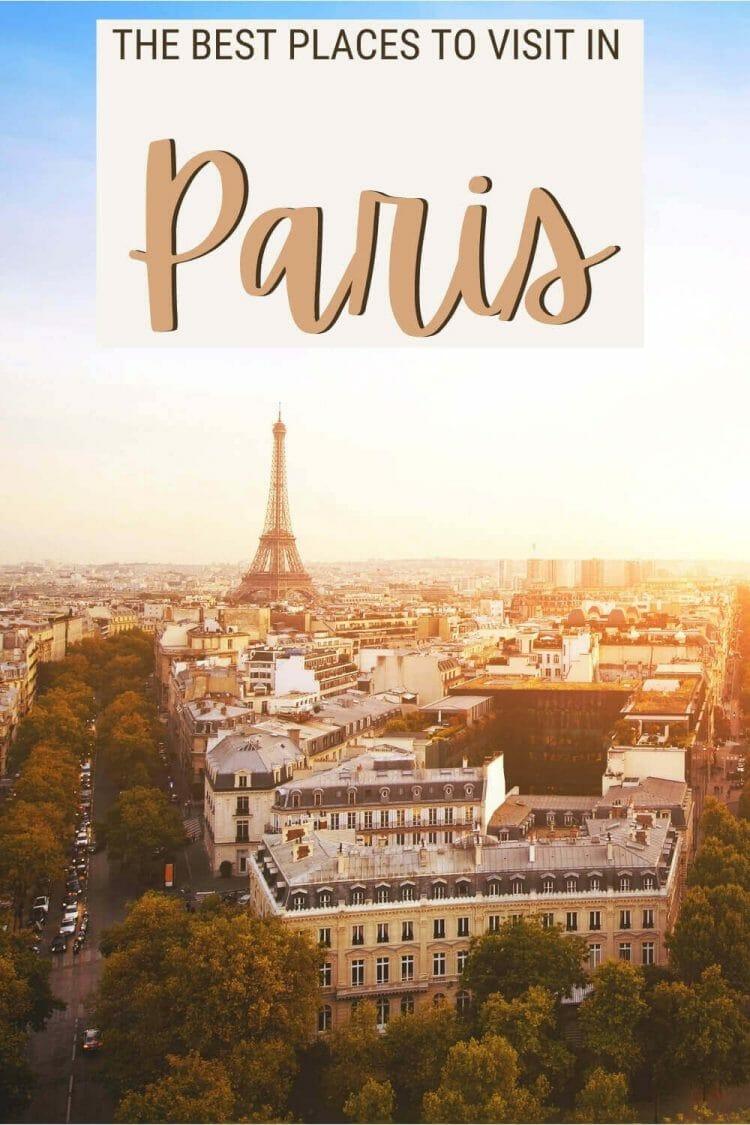 Discover the unmissable places to visit in Paris - via @clautavani