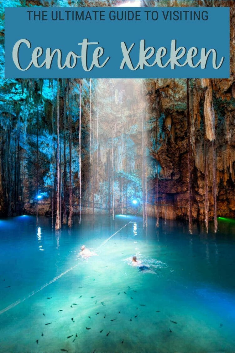 Read the complete guide to visiting Cenote Xkeken - via @clautavani