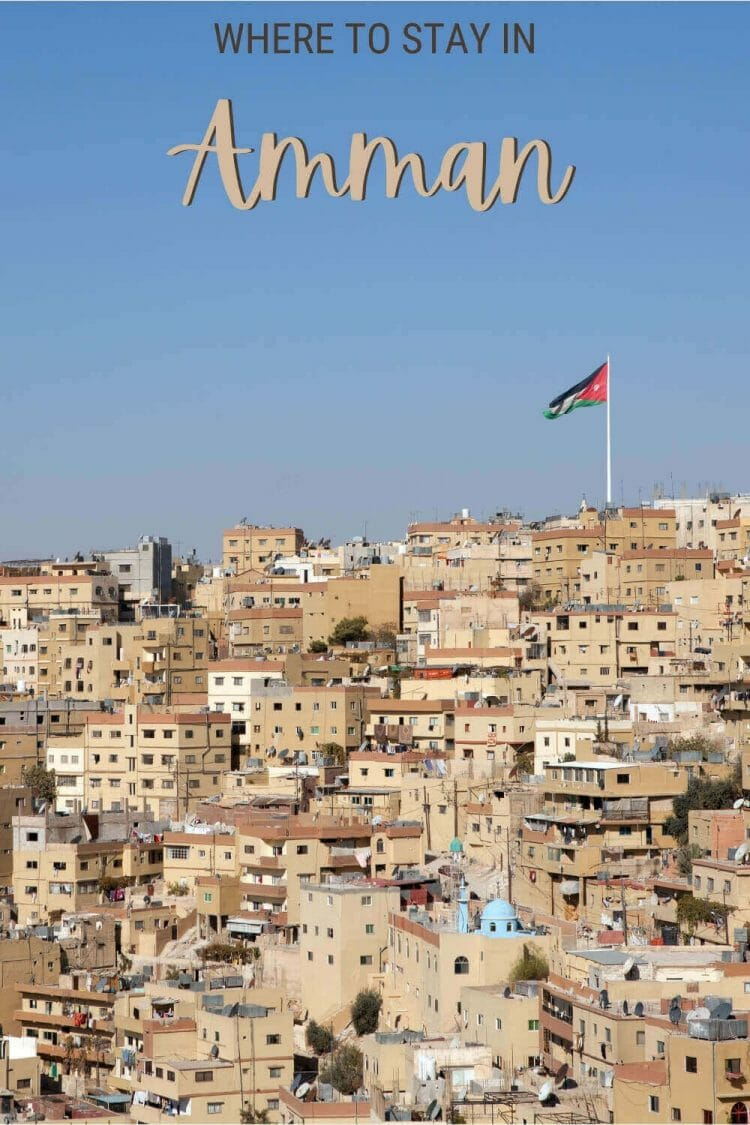 Discover the best places to stay in Amman - via @clautavani